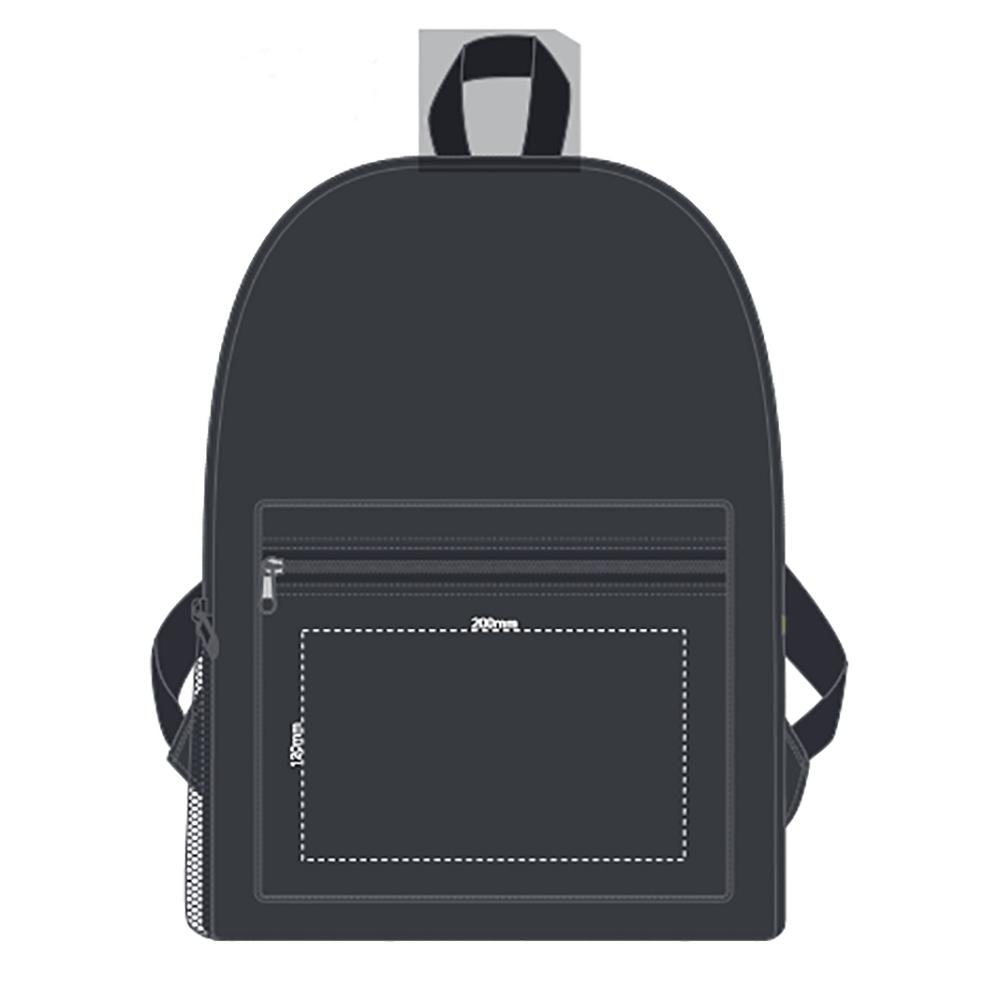 Bullet Back Pack Branding Template 1