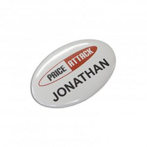 Button Badge Oval 65 x 45mm main