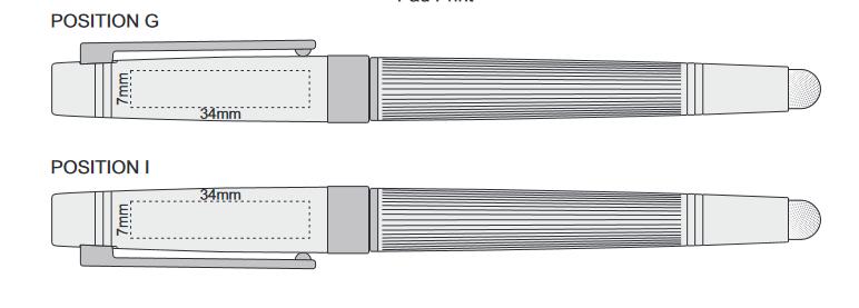 Centaris Stylus Pen branding template