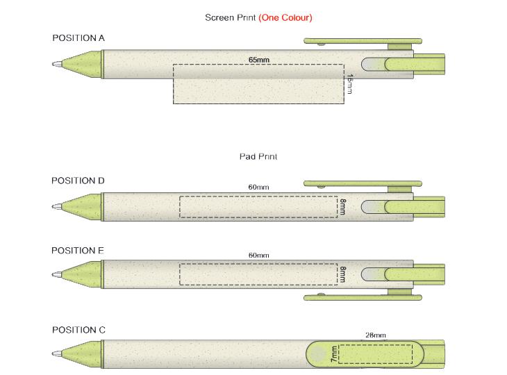 Choice Pen branding template 1