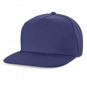 Chrysler Flat Peak Cap royal blue