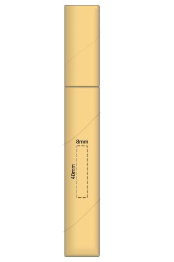 Eco Pen Pencil Set branding template