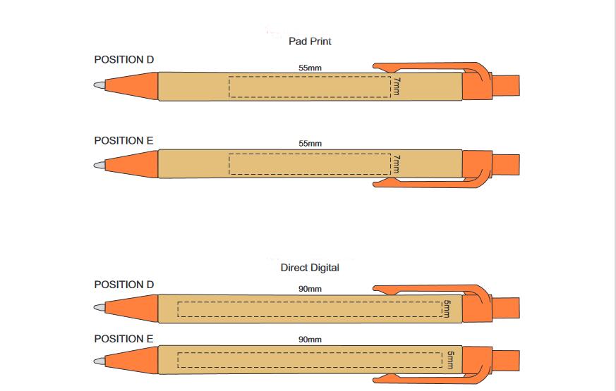 Eco Pen branding Template