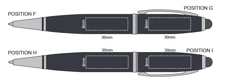 Exocet Flash Drive Pen branding Template