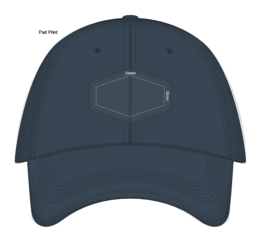 Falcon Cap with Patch BRANDING TEMPLATE