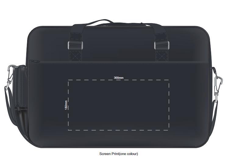 Millennium Laptop Travel Bag branding template