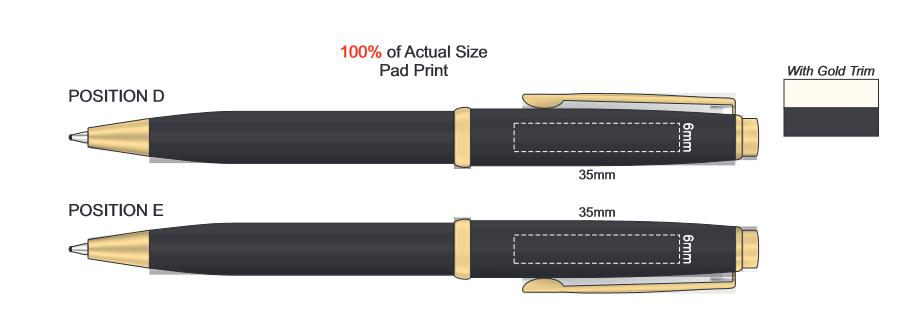 Pierre Cardin Momento Pen branding template