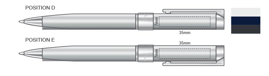 Pierre Cardin Noblesse Pen Branding Image