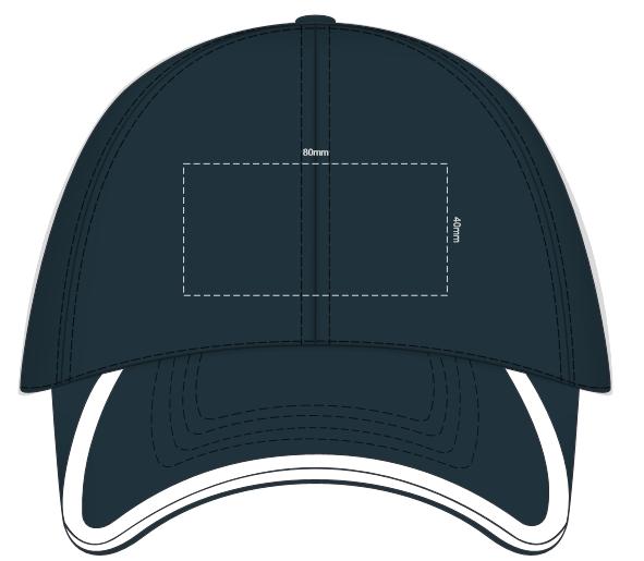 Sprint Sports Cap branding template