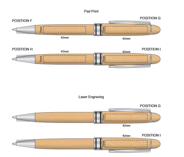 Supreme Wood Pen branding template