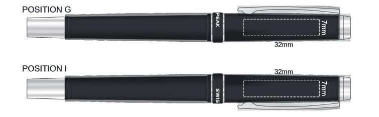 Swiss Peak Heritage Roller Pen branding Template