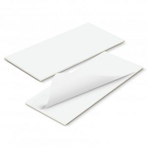 90mm x 160mm Note Pad Full Colour white