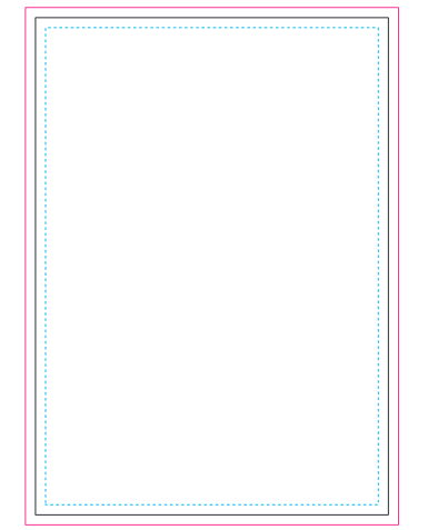 A6 Note Pad 50 Leaves branding template