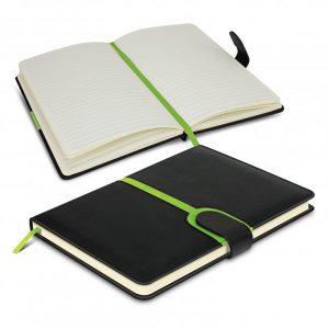 Andorra Notebook bright green