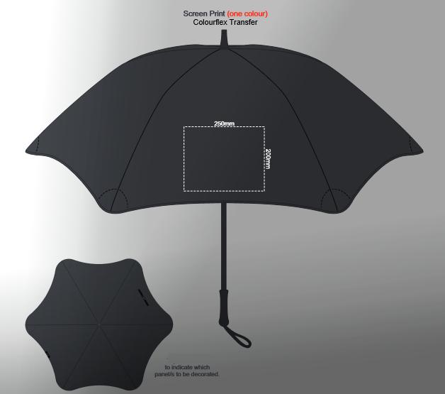 BLUNT Exec Umbrella branding template