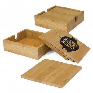 Bamboo Coasters main
