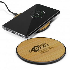 Bamboo Wireless Charger main