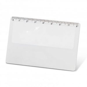 Card Magnifier White