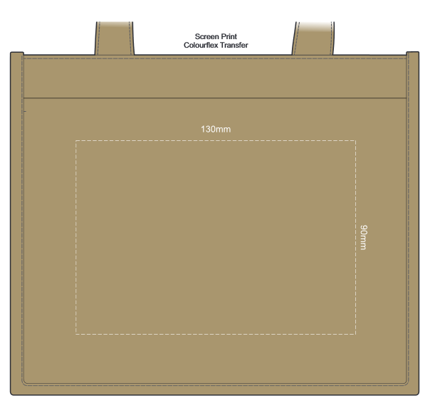 Coffee Carrier branding template