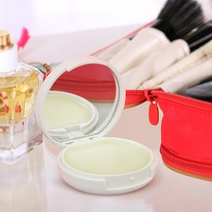 Compact Mirror and Lip Balm Feature