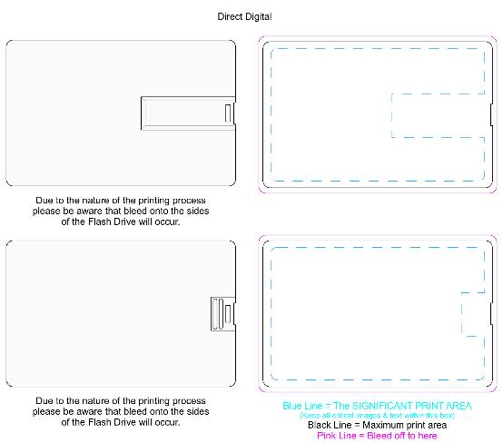 Credit Card Flash Drive 16GB Branding Template jpg JPEG Image 2204 × 1949 pixels — Sca...