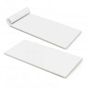 DLE Vertical Note Pad 50 Leaves white