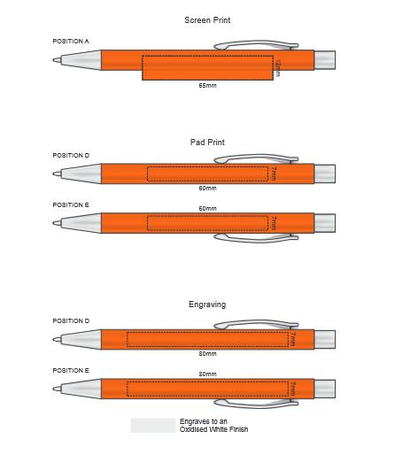 Demio Notebook and Pen Gift Set branding template 1