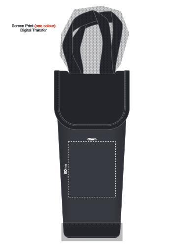 Dunstan Wine Cooler Bag branding template