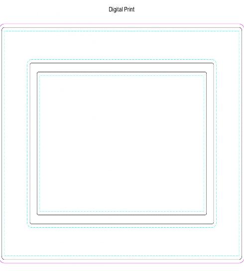 Fridge Magnet Photo Frame 170 x 130mm Branding Template 1 1657x2048 jpg JPEG Image 1657...