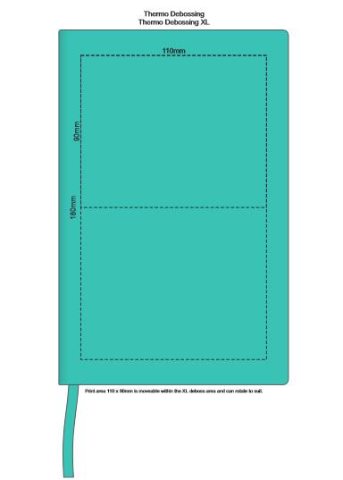 Genoa Soft Cover Notebook branding template 3