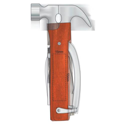 Gladiator Hammer Tool branding template