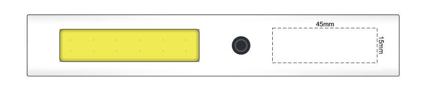 Glare Magnetic COB Light branding template