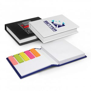 Hard Cover Notes and Flags Main