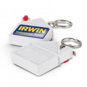 House Tape Measure Key Ring main