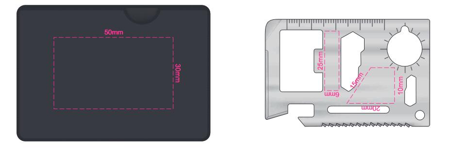Multi Tool Card branding template