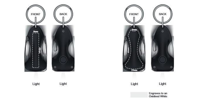Mustang Multi Tool Key Ring branding template