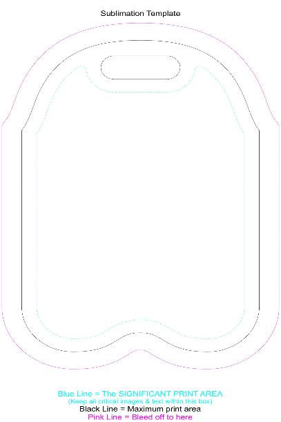 Neoprene Double Wine Cooler Bag Full Colour Branding Template 2