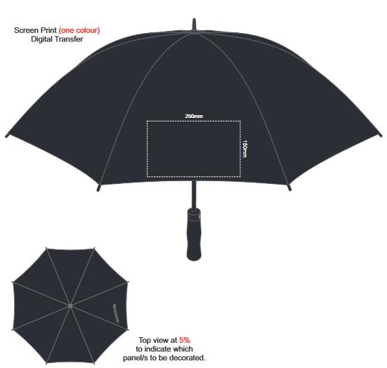 Patronus Umbrella branding template