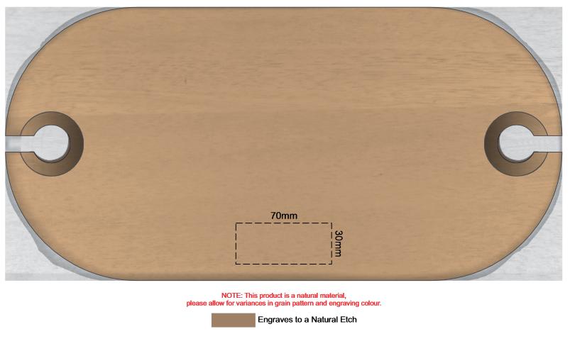 Picnic Serving Board branding template