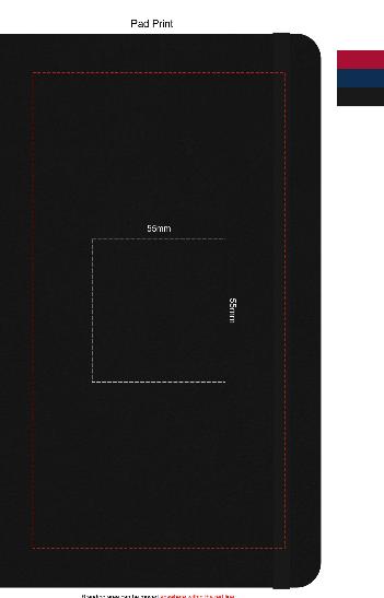 Pierre Cardin Notebook Medium Branding Template 1