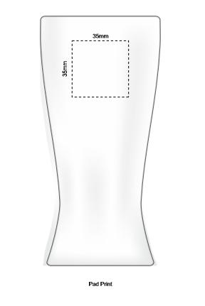 Polo Tumbler Tritan 410ml branding template