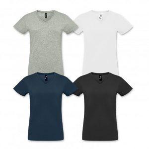 SOLS Imperial Womens V Neck T Shirt colour