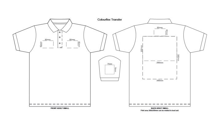 SOLS Prime Mens Polo Shirt branding template 1