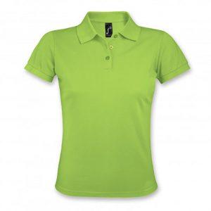 SOLS Prime Womens Polo Shirt apple green
