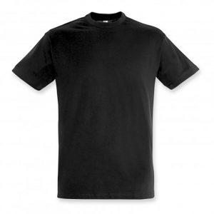 SOLS Regent Adult T Shirt deep black