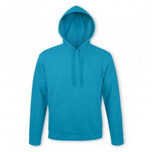 SOLS Snake Hooded Sweatshirt aqua