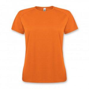 SOLS Sporty Womens T Shirt orange
