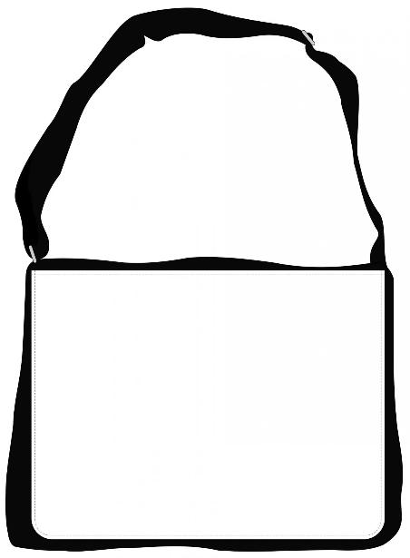 Sentinel Messenger Bag branding template 2