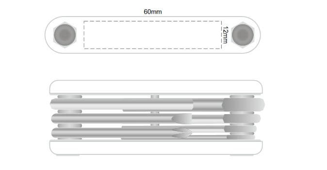 Targa Multi Tool Set branding template