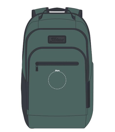 Titleist Players Backpack branding template